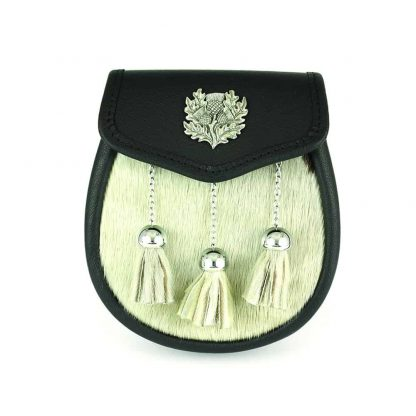 Traditional Thistle Semi Dress Sporran - SF4