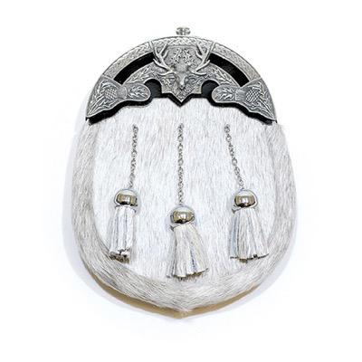Grey Skin Celtic Dress Sporran