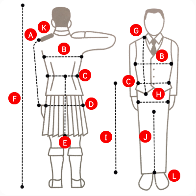 HOW TO MEASURE YOUR OUTFIT
