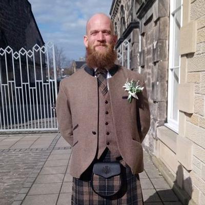 Kilt Company Brave Tweed Jacket & Waistcoat