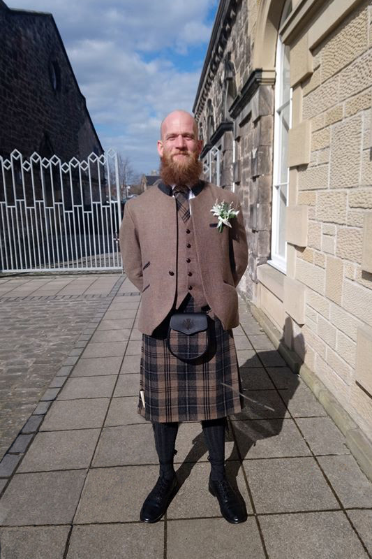 Kilt Company Brave Tweed Outfit