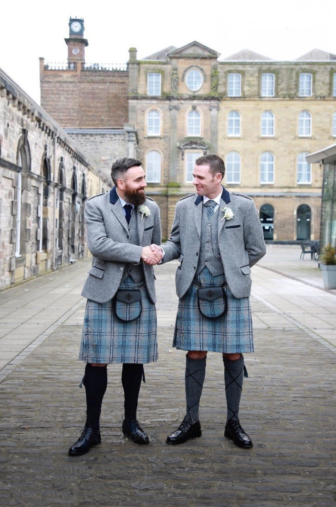 Kilt Company Trinity Tweed Outfit