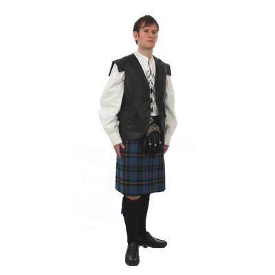 Leather Petain Waistcoat