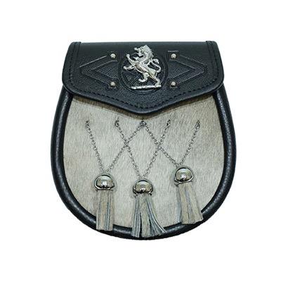Scottish Lion Badge Semi Dress Sporran