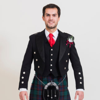 Modern Prince Charlie Jacket & Waistcoat