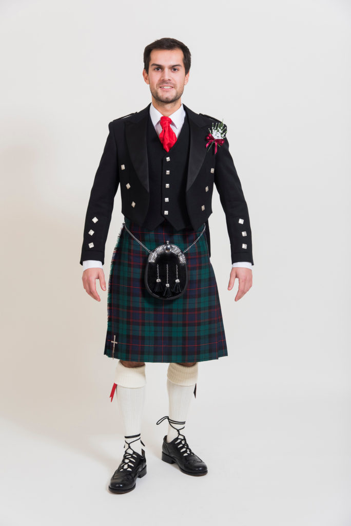 Modern Prince Charlie Outfit