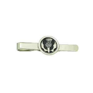 Pewter Thistle Tie Slide