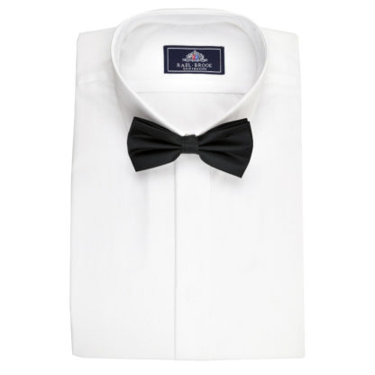 Plain Collar Shirt With Fly Front