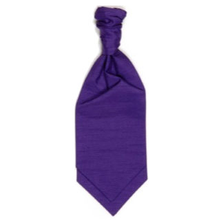 Ruche Tie Violet