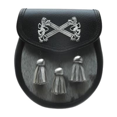Saltire Leather Sporran