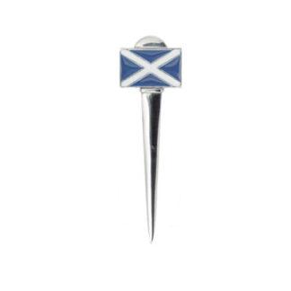Saltire Pewter Kilt Pin