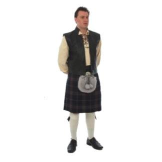Swordsman Leather Waistcoat