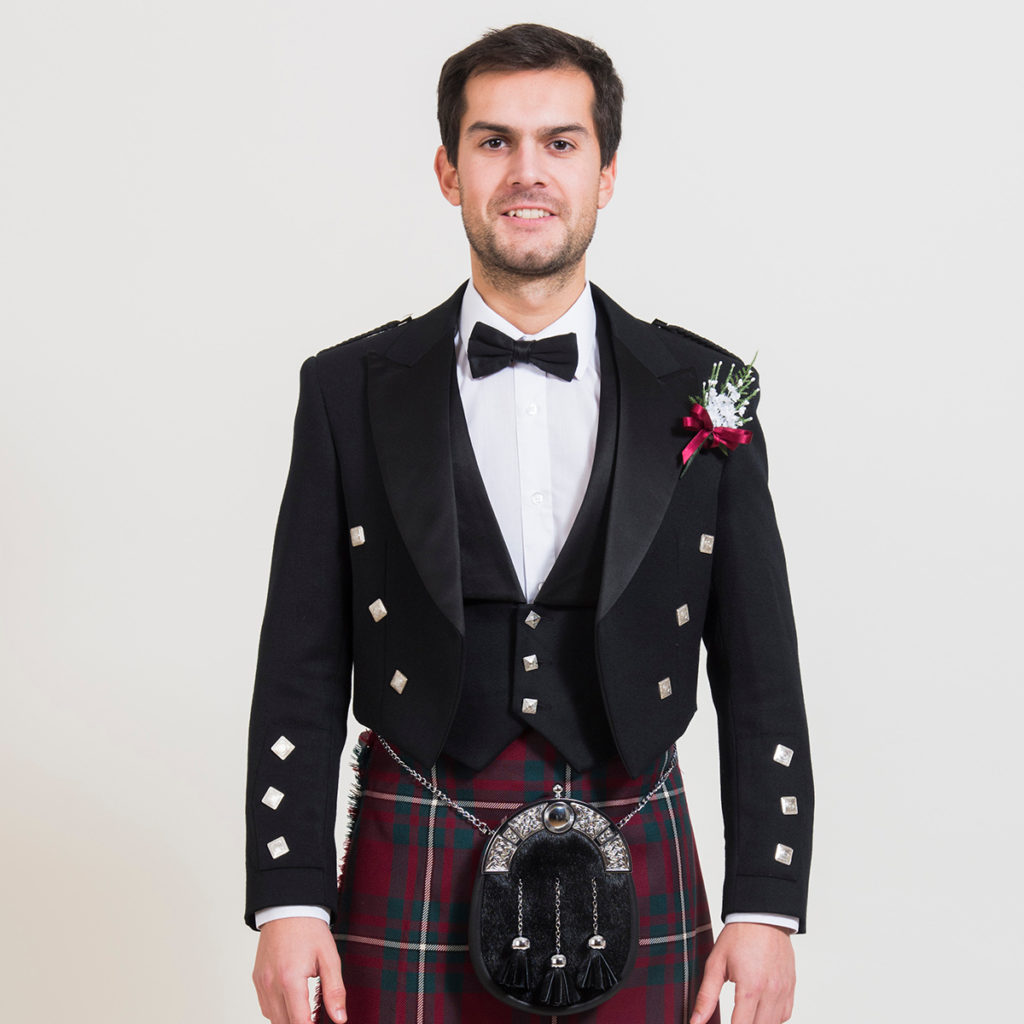 Traditional Prince Charlie Jacket & Waistcoat