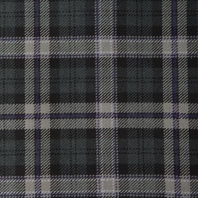 Scottish National Black Grey Tartan