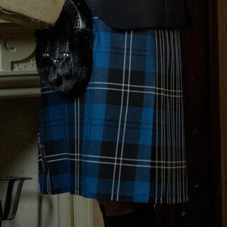 Modern Blue Ramsay Kilt