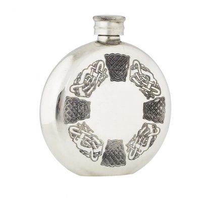 6oz Celtic Pewter Flask