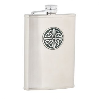 Celtic Knot Stainless Steel Flask