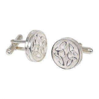 Celtic Silver Cufflinks