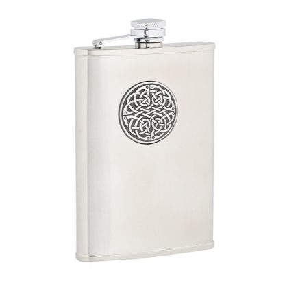 Celtic Weave Stainless Steel Flask