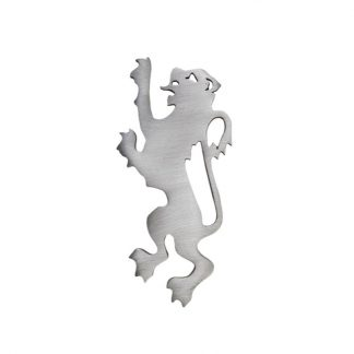 Modern Lion Rampant Matt Kilt Pin