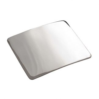 Plain Polished Belt Buckle