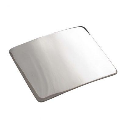 Plain Polished Belt Buckle