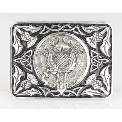 Scotland Enamel Belt Buckle