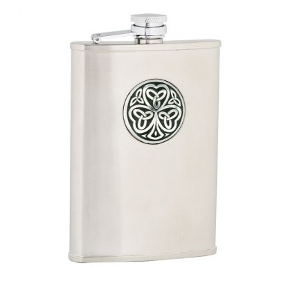 Shamrock Stainless Steel Flask
