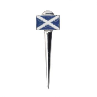 St Andrews Saltire Kilt Pin