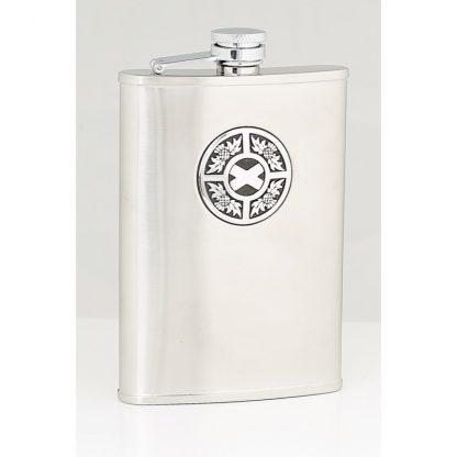 Thistle & Saltire Stainless Steel Flask