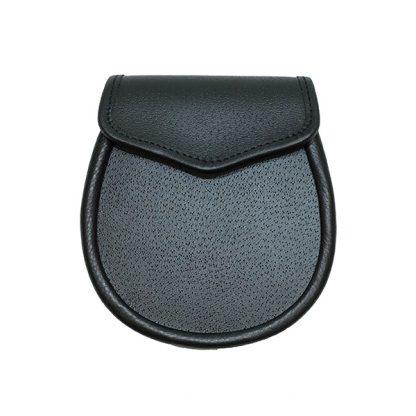 Black Leather Sporran Base