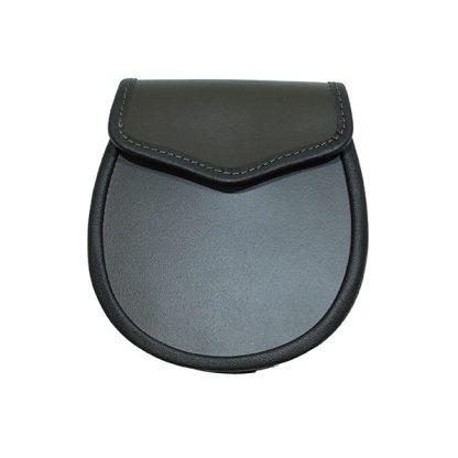 Brown Leather Sporran Base