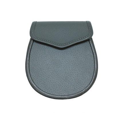 Gray Leather Sporran Base