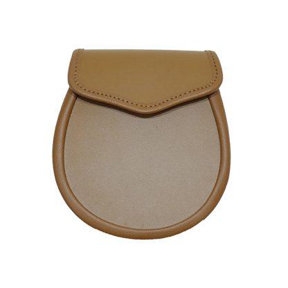 Tan Leather Sporran Base